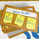 Bulletin Board Business Card - GraphicRiver Item for Sale