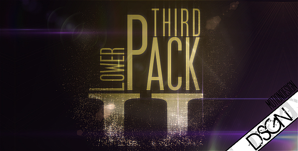 After Effects Project - VideoHive Lower Third Pack Vol.2 FullHD 108076