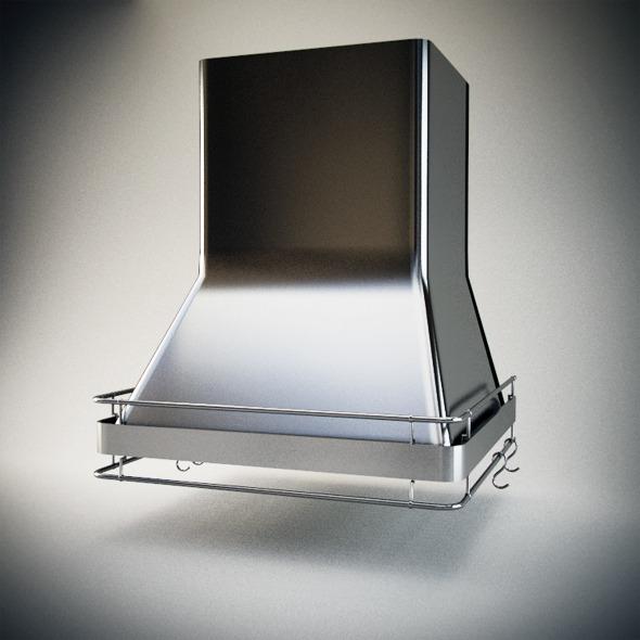 3DOcean Realistic Extractor hood Hood kitchen 3041222