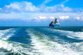 Cargo ship sailing in to the sea - PhotoDune Item for Sale