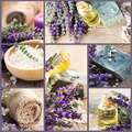 Collage spa lavander - PhotoDune Item for Sale