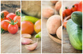 Collage vegetables - PhotoDune Item for Sale