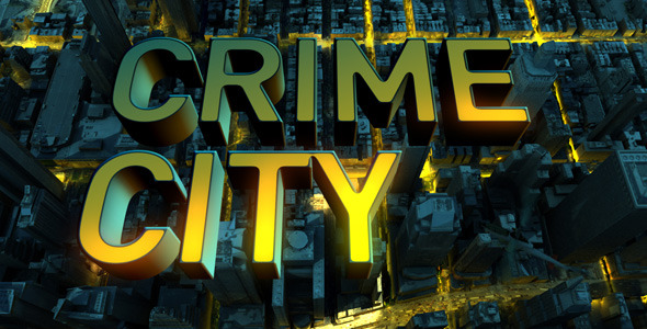 After Effects Project - VideoHive Crime City 3013493