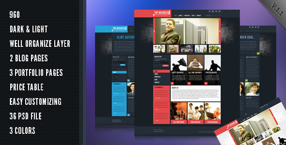 ThemeForest Top Business 2791032