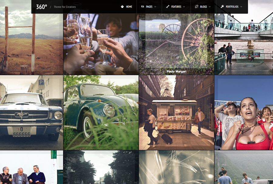 360 - Panoramic WordPress Theme