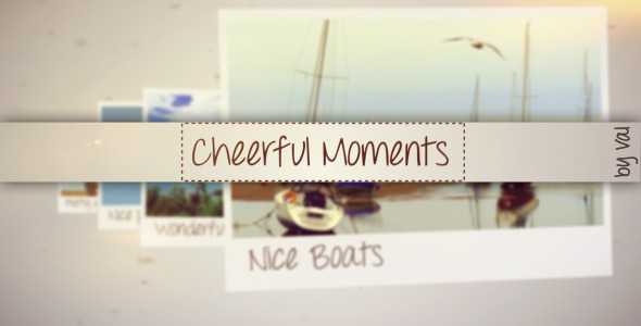 After Effects Project - VideoHive Cheerful Moments 3042813