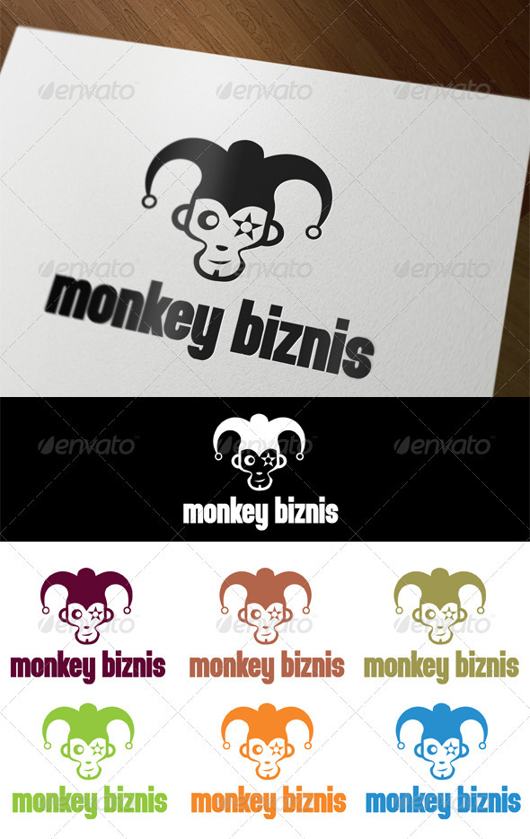 Monkey Biznis - Animals Logo Templates