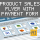 Product Sales Flyer with Order Form - GraphicRiver Item for Sale