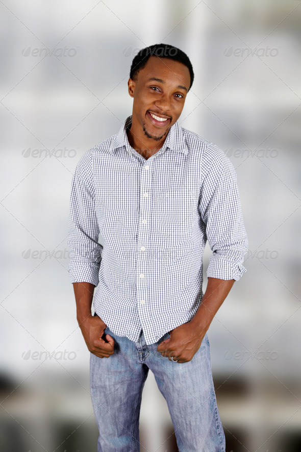 Man At The Office - Stock Photo - Images