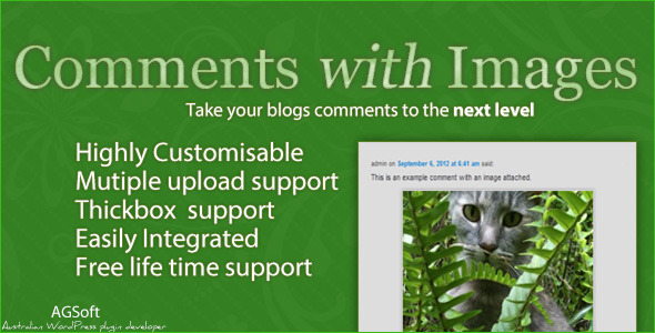 CodeCanyon Comments with Images 2975469