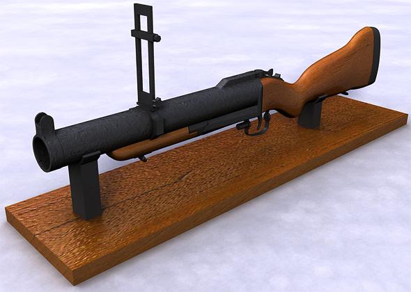 3DOcean M79 Grenade launcher 108259