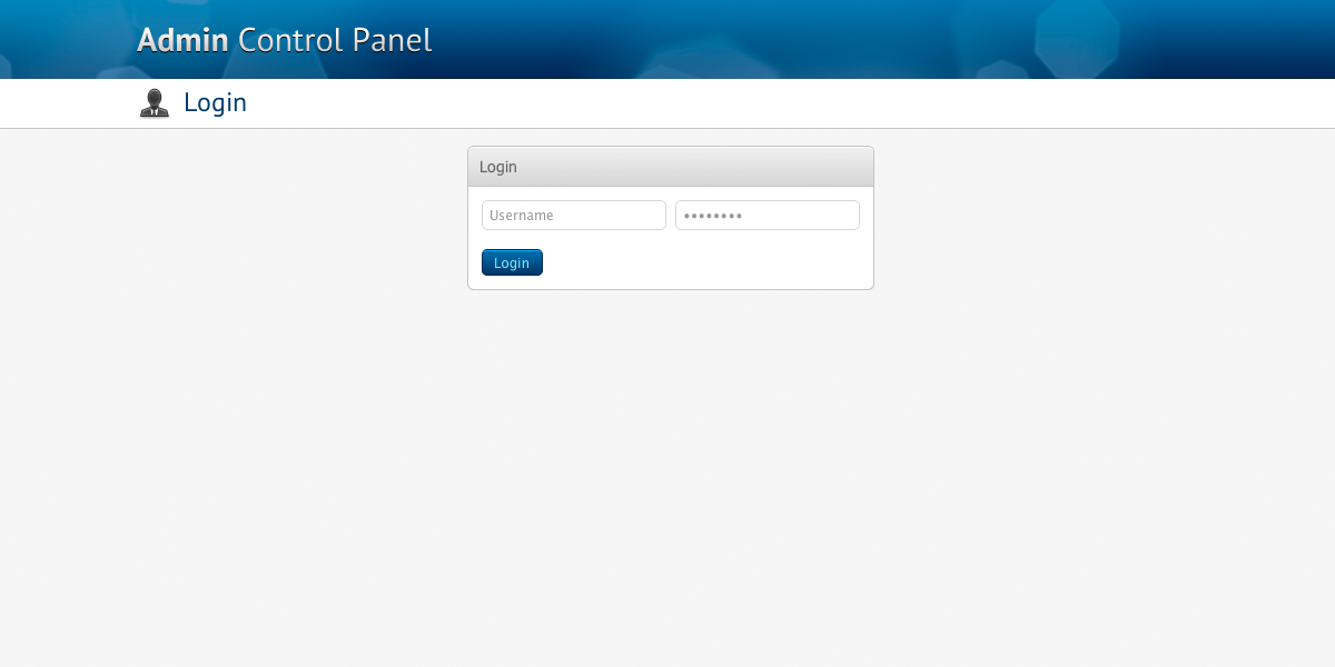 Admin Control Panel - The skin makes heavy use of jQuery to create stunning, yet subtle, effects.