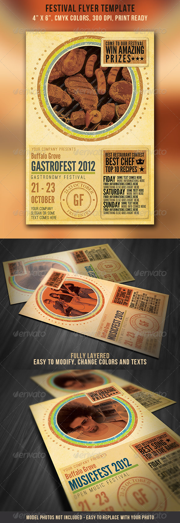 Festival Flyer Template - Events Flyers
