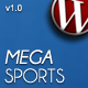 MegaSports CMS Wordpress Theme - ThemeForest Item for Sale