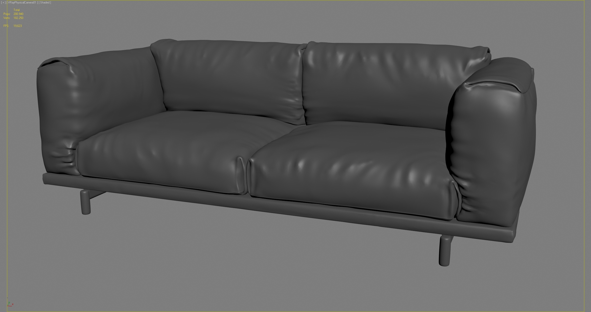 muuto rest sofa vray materials by cgstar 3docean. Black Bedroom Furniture Sets. Home Design Ideas