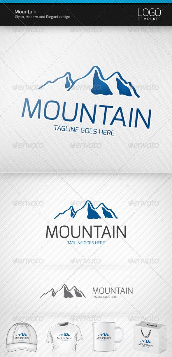 GraphicRiver Mountain Logo 3048030