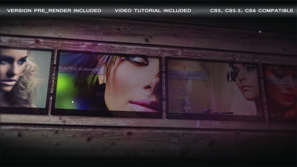 After Effects Project - VideoHive Stylish Slideshow 3048033