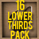 Material Box Lower Third Pack - VideoHive Item for Sale