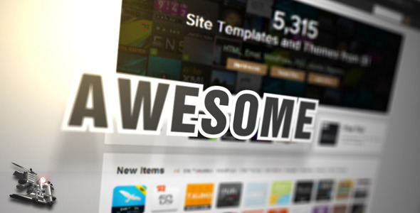 After Effects Project - VideoHive website webpage wordpress Promotion 30492 ...