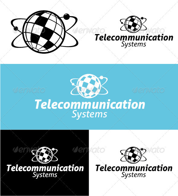 Telecommunication Systems Logo - Objects Logo Templates