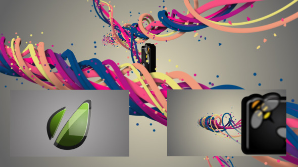 VideoHive Heaven Lines 3D Logo Reveal 3050635