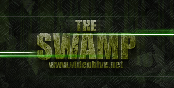 After Effects Project - VideoHive The SWAMP cinematic trailer 108439