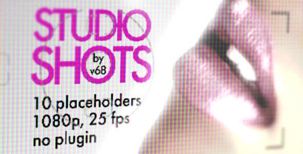 VideoHive Studio Shots Promo Displays 3041117