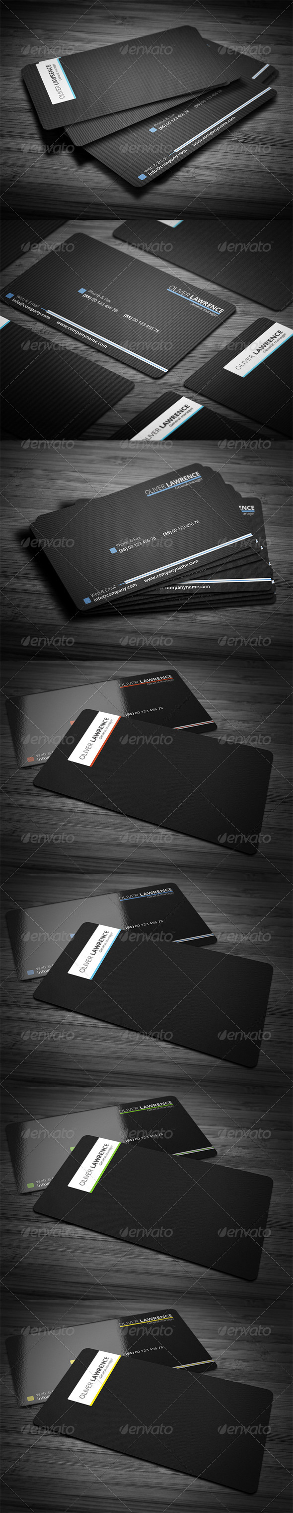 GraphicRiver Line Pro Business Card 3036625