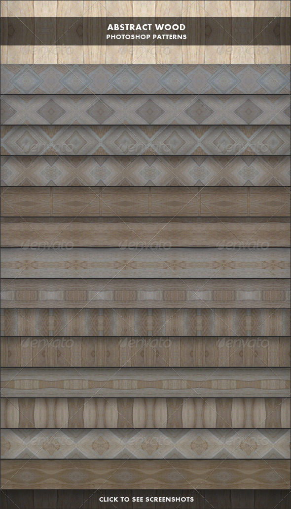 Abstract Wood - Photoshop Patterns - Textures / Fills / Patterns Photoshop