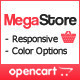 MegaStore - OpenCart Theme - ThemeForest Item for Sale
