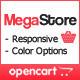 MegaStore – OpenCart Theme  Free Download