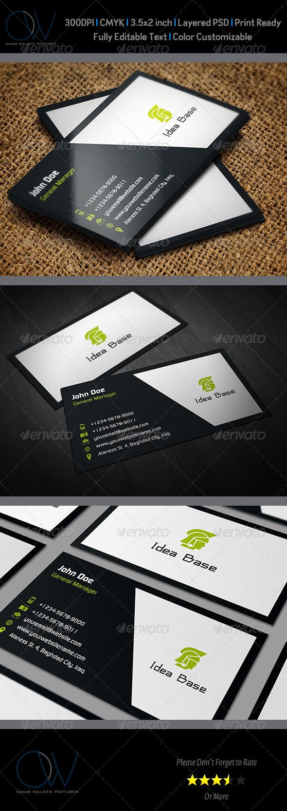 GraphicRiver Classic Business Card v2 3053467