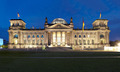 Berlin Reichstag, panoramic view at night - PhotoDune Item for Sale