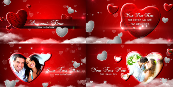 After Effects Project - VideoHive Romantic Time 3035859