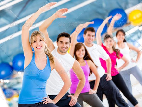 PhotoDune Gym people 3054393