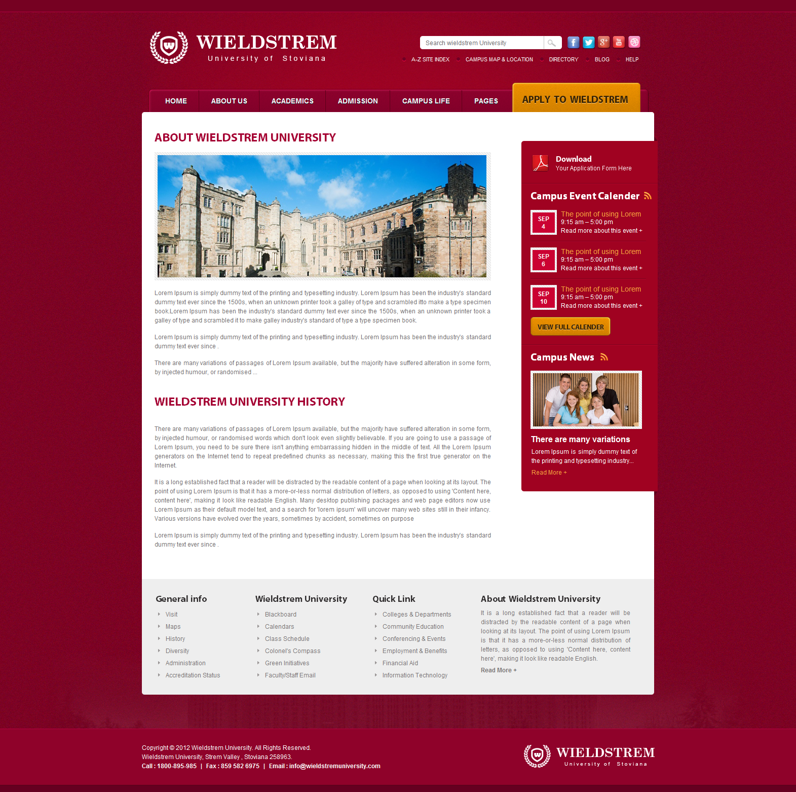 WieldStrem University