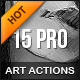 Pro ART Actions - GraphicRiver Item for Sale
