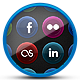 Vibrant Velvet - Social Media Icons - GraphicRiver Item for Sale