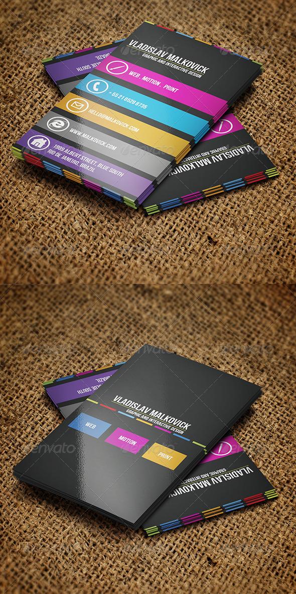 GraphicRiver Designer Business Card 2 3055568