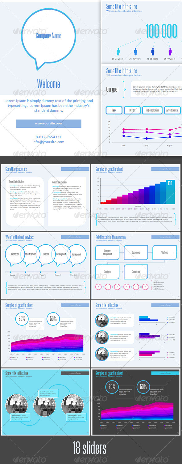 GraphicRiver Corporate Presentation Template 3039747