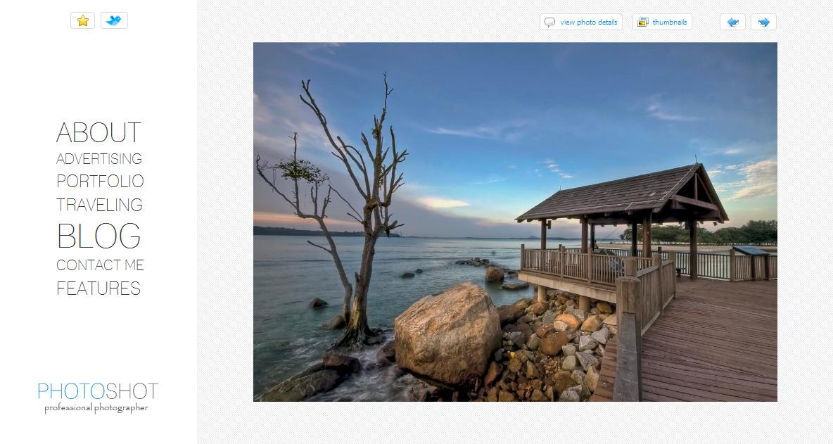 Photoshot - photo blog-portfolio