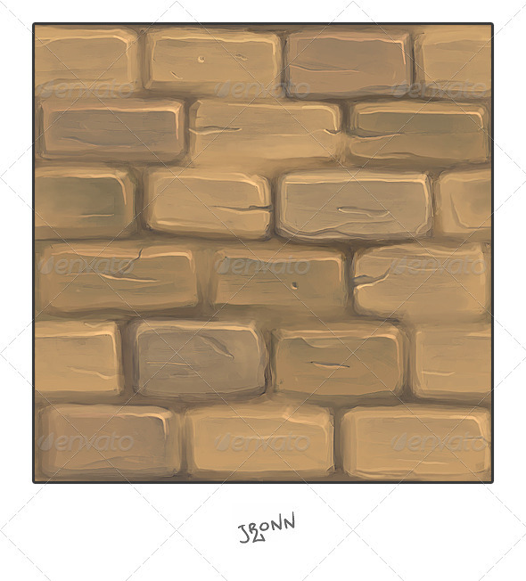 3DOcean Mud Stone Wall 3055961