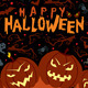 Vector Happy Halloween Poster - GraphicRiver Item for Sale