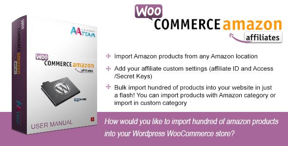 CodeCanyon WooCommerce Amazon Affiliates Wordpress Plugin 3057503