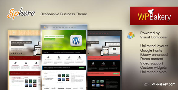 Sphere - Multi Purpose Responsive WordPress Theme