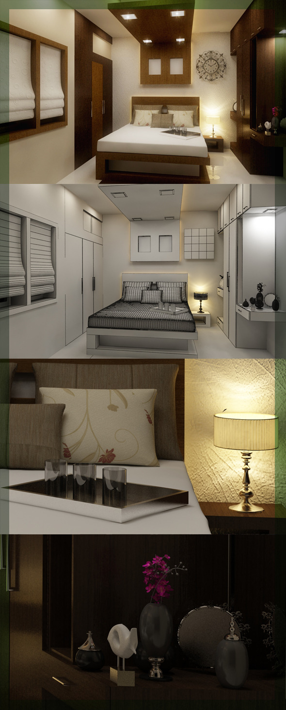 3DOcean Edit Bed Room 3D interior design 8080 109 3058098