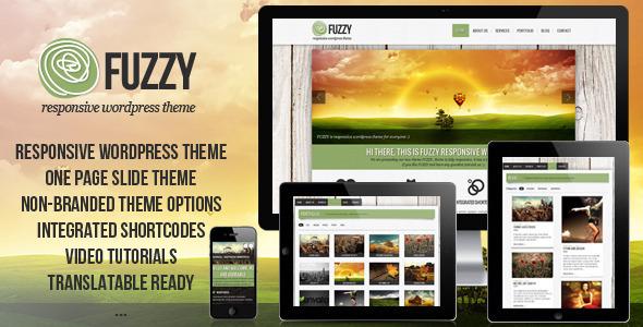 ThemeForest FUZZY jQuery responsive wordpress theme 3058112