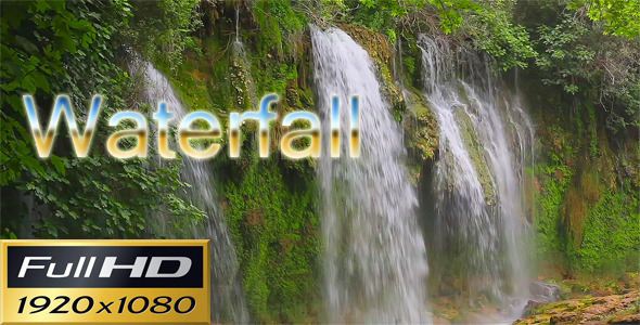 VideoHive Waterfall In The Jungle 3058341