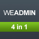 WeAdmin - ThemeForest Item for Sale