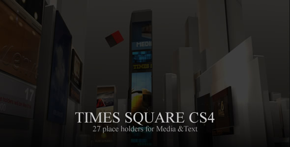 After Effects Project - VideoHive Times Square CS4 108077